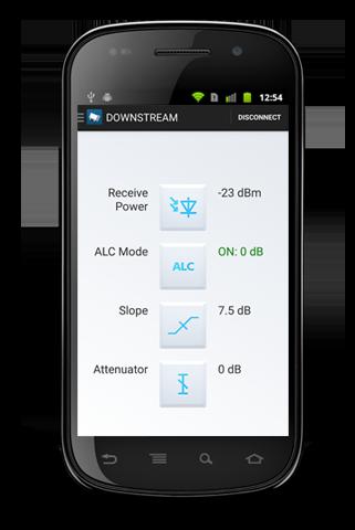 Aplikacja Bluetooth do konfiguracji węzła