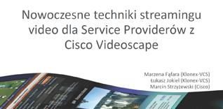 Prezentacja Cisco Forum 2012