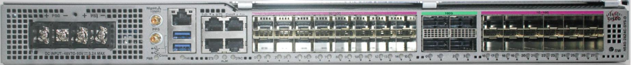 Cisco NCS 540 - Crater Lake, DC PSU