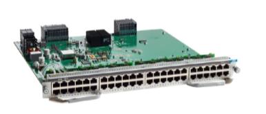 Cisco Catalyst 9400 Series 48-Port UPOE 10/100/1000 (RJ-45) Line Card (C9400-LC-48U)