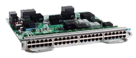 Cisco Catalyst 9400 Series 48-Port UPOE®Line Card (C9400-LC-48UX) with 24 port Multigigabit Ports and 24 10/100/1000 Mbps Ports